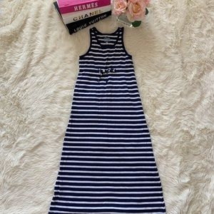 Old Navy Girls Long Maxi Dress Stripes size S